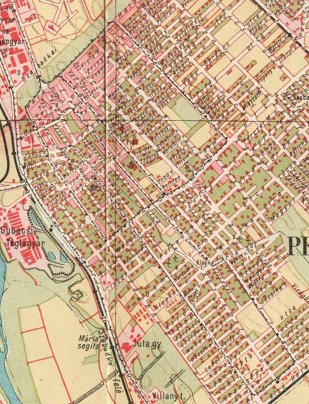 budapest térkép pesterzsébet HamPage: Pesterzsébet elvesztett sínei I. budapest térkép pesterzsébet