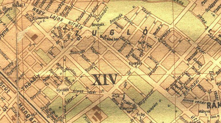 budapest térkép 1980 Lost rails