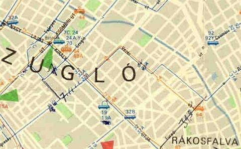 budapest térkép zugló Budapest elvesztett sínei   A 64 es villamos budapest térkép zugló