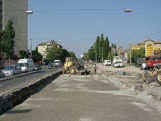 A Bartók Béla út felújítása 8.