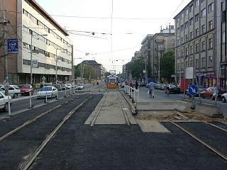 A Bartók Béla út felújítása 17.