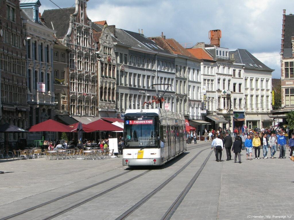 Trams of Gent / Ghent / Gaunt / Gand
