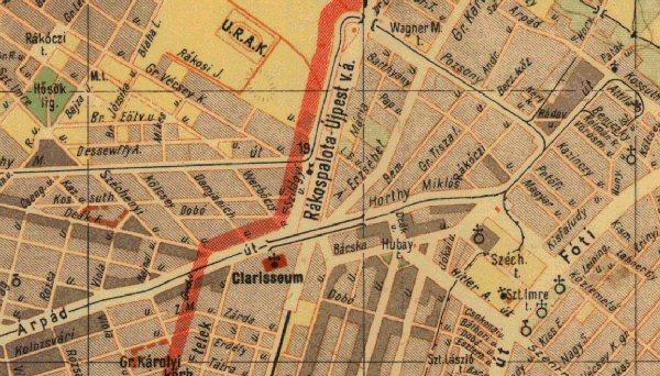 budapest rákospalota térkép Budapest elvesztett sínei   Villamosok Újpesten és Rákospalotán II. budapest rákospalota térkép