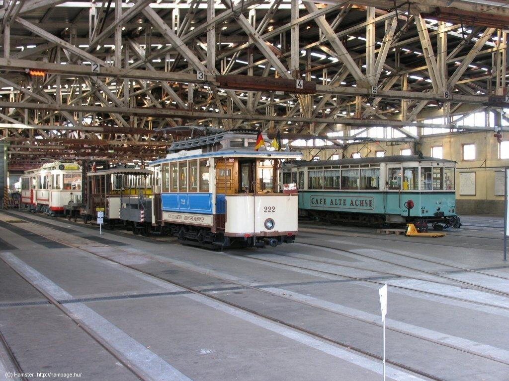 Stuttgart good bye to the zuffenhausen tramway museum for Depot feuerbach