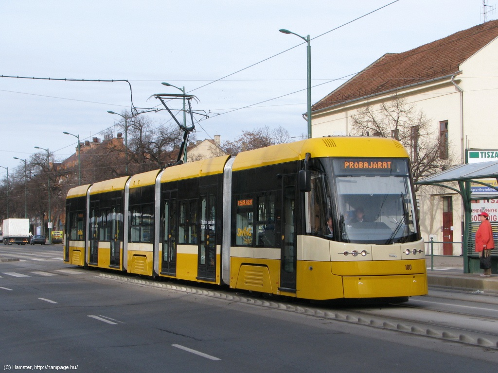 Trams Of Hungary And Much More Szeged New Tram Already
